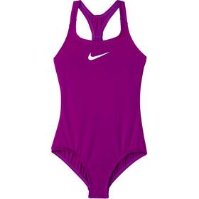 Nike Swim Essential Racerback One Piece Badpak Meisjes, vivid purple